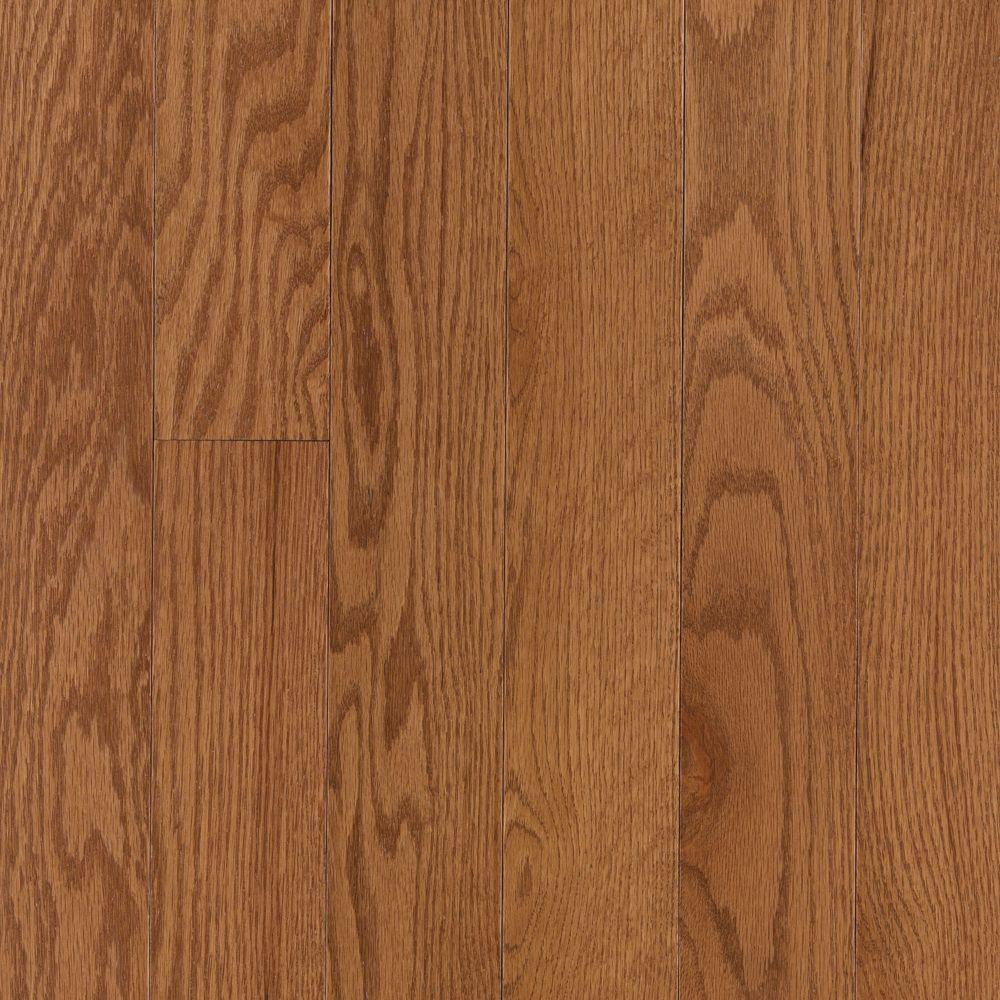 Raymore Oak Saddle Hardwood Flooring - 5 in. x 7 in. Take Home Sample
