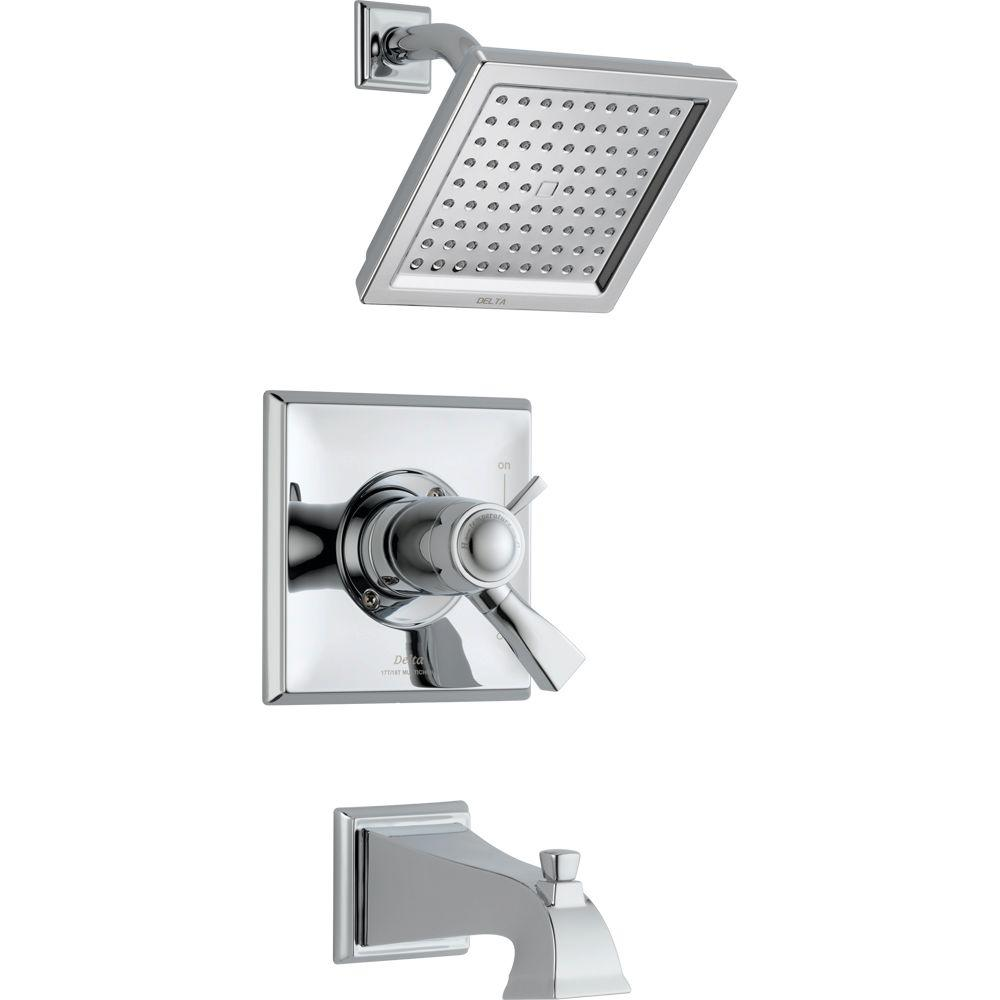 Dryden TempAssure 17T Series 1-Handle Tub and Shower Faucet Trim Kit