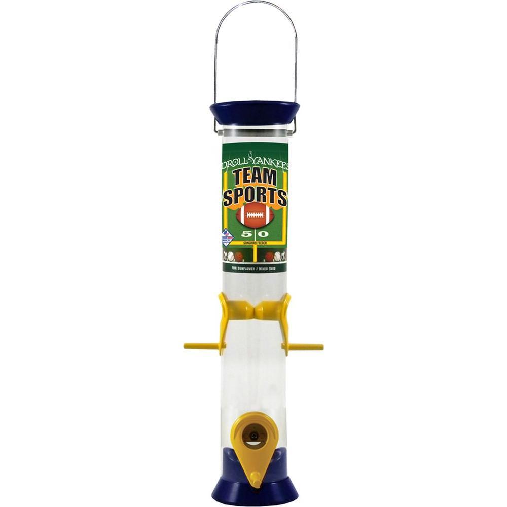 15 in. Team Sports Sunflower/Mixed Seed Bird Feeder