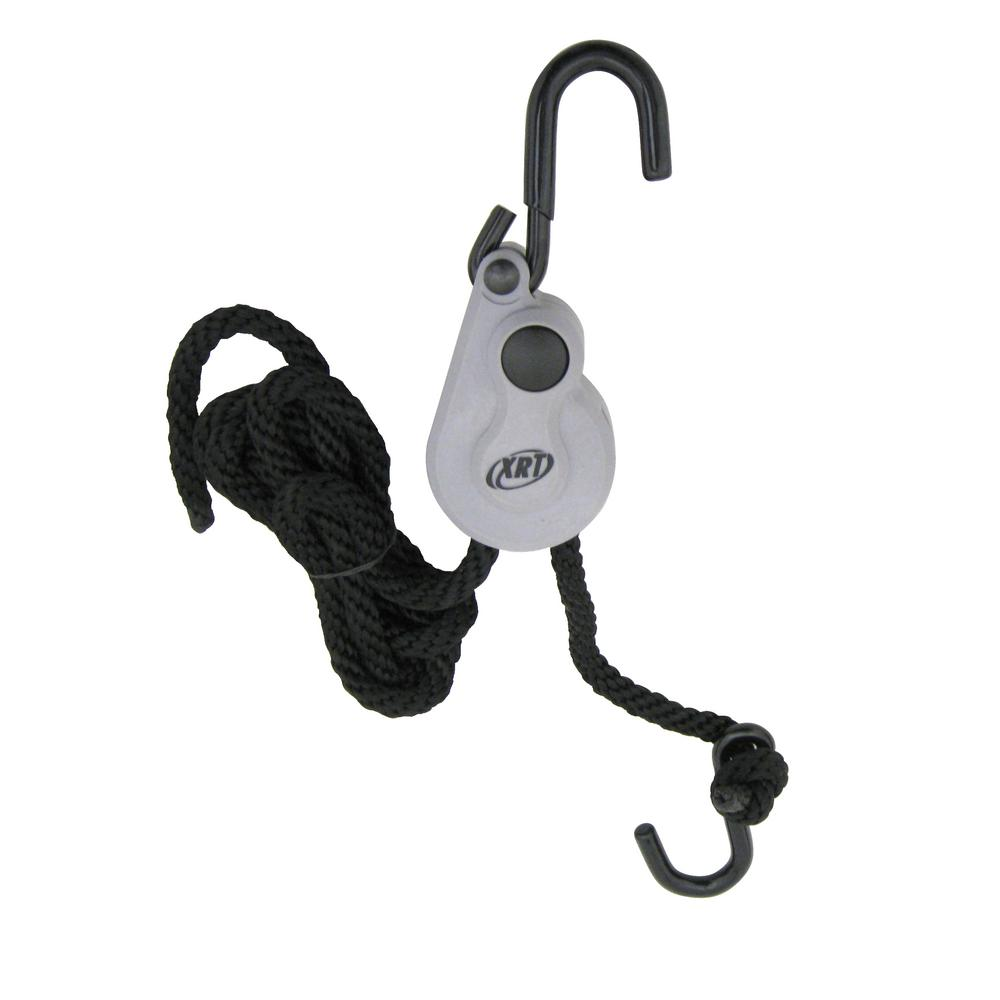 Pack of 2 5 1//2 x 1//8 PROGRIP 403420 XRT Rope Lock Tie Down w//Push Button Release for Cargo Transport and Control