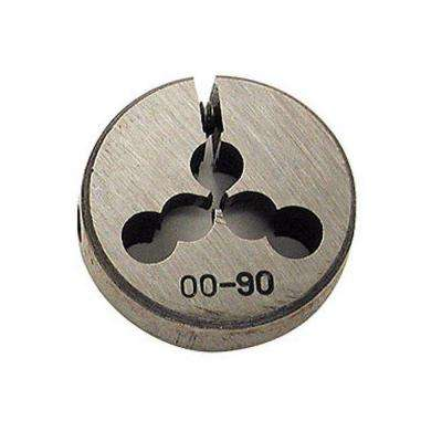 0-80 Threading x 13/16 in. Outside Diameter High Speed Steel Dies