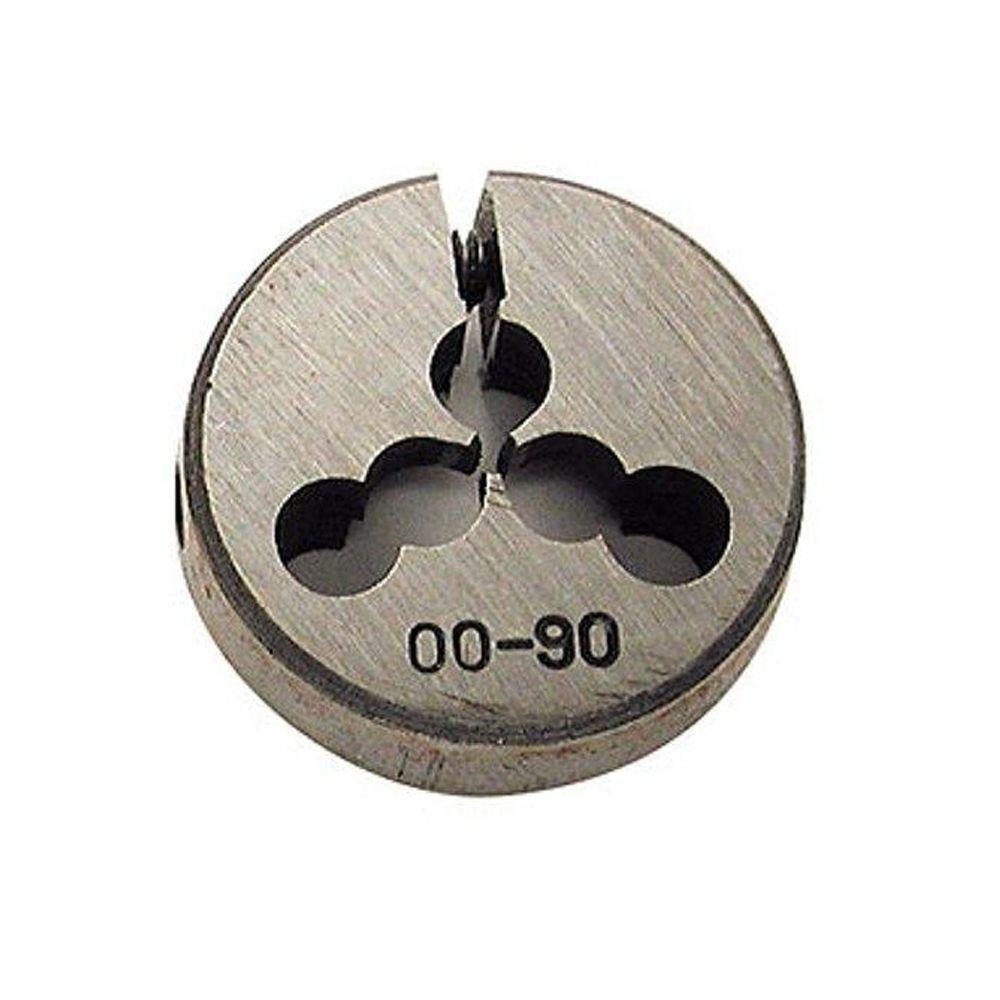 10-24 Threading x 13/16 in. Outside Diameter High Speed Steel Dies