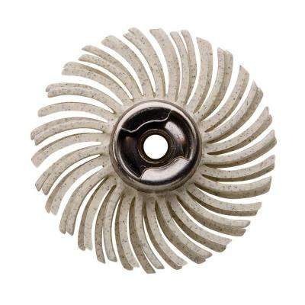 120 Grit Medium Detail Abrasive Brush for Metal, Wood, Aluminum, and Plastic