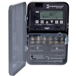 Intermatic 20 Amp 24 Hour Spst 1 Circuit Digital Time Switch With