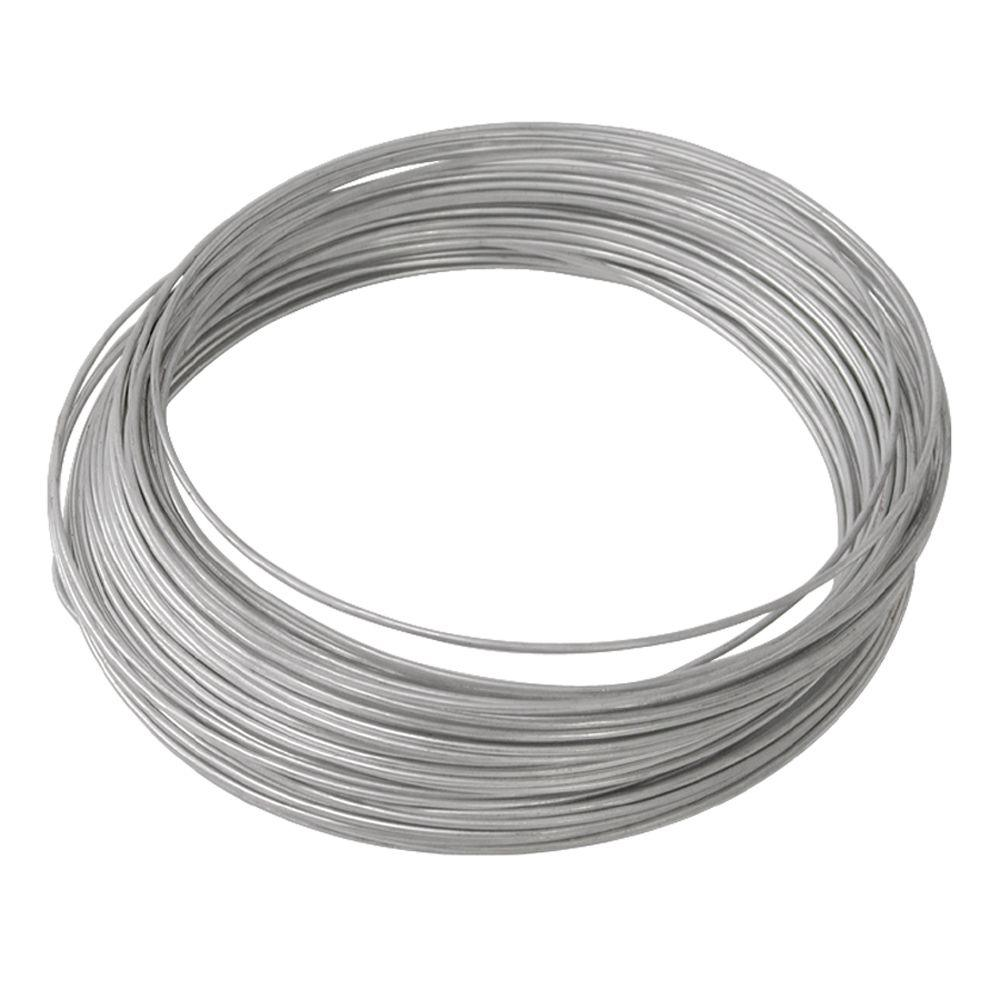 Ook 14 Gauge X 100 Ft Galvanized Steel Wire 50142 The Home Depot Wiring House For Cable
