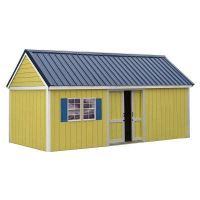 Brookhaven 10 ft. x 20 ft. Storage Shed Kit