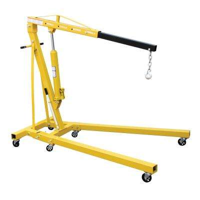 4,000 lb. Capacity Engine Hoist with Folding Legs