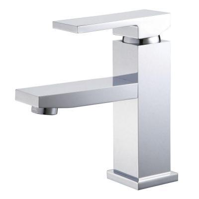 Single Hole 1-Handle Lavatory Faucet in Polished Chrome