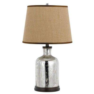 26 in. Mirror Glass Table Lamp
