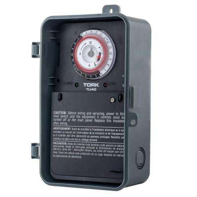 40-Amp Universal Multi-Voltage 24 Hour Mechanical Time Switch