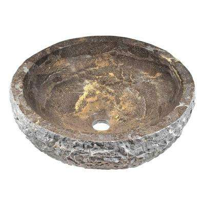 Natural Stone Blue Vessel Sinks