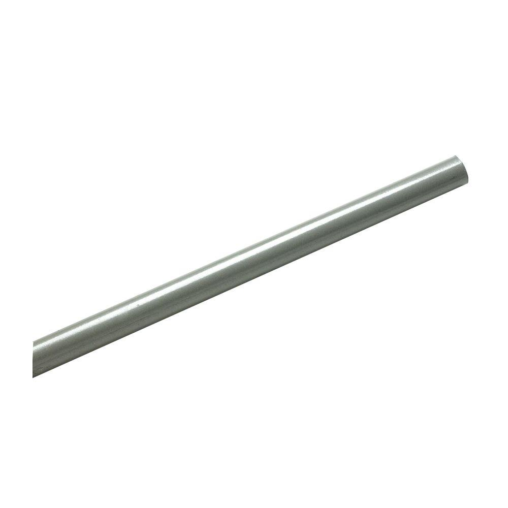 SuperSlide 8 ft. Nickel Closet Rod