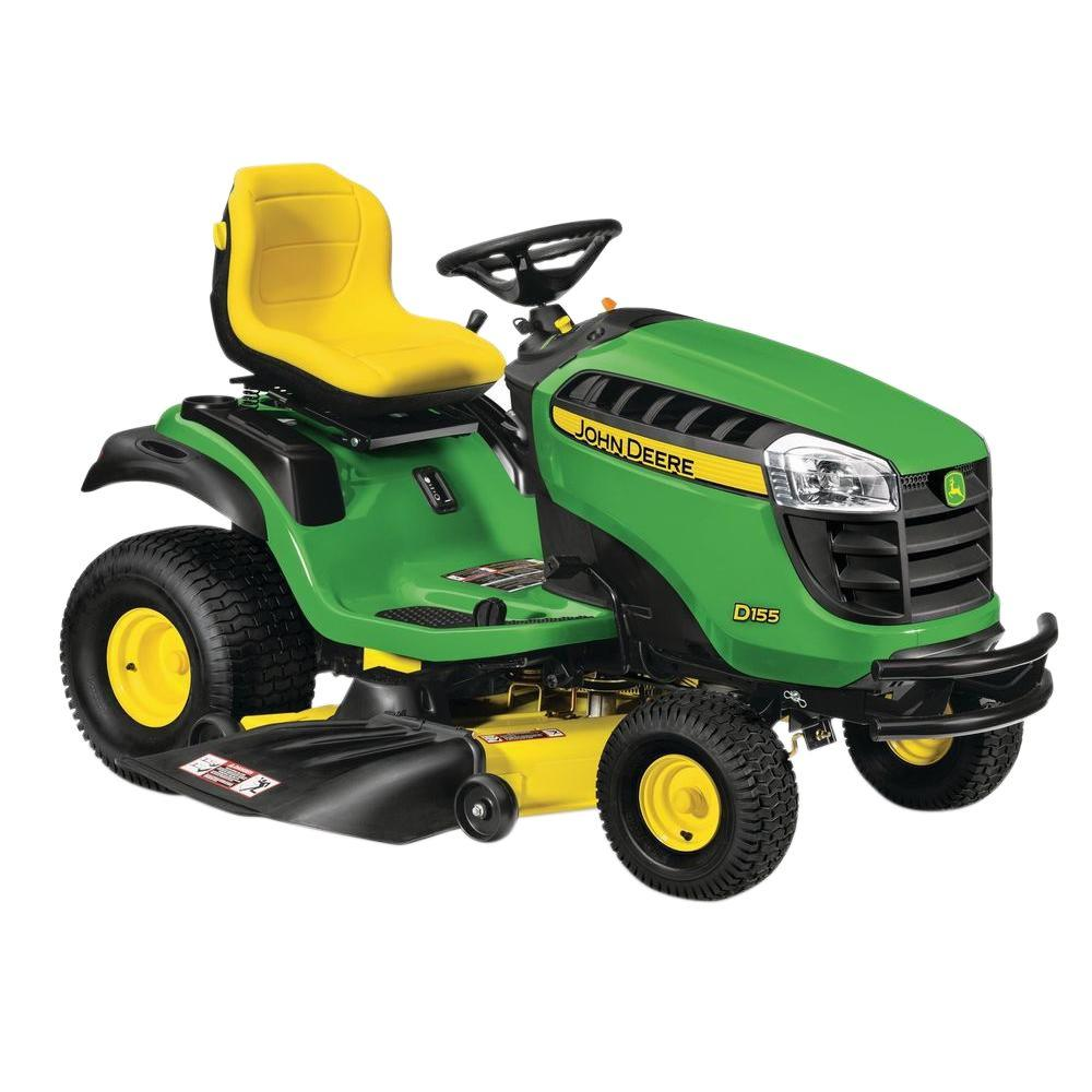 John Deere D155 48 in. 24 HP ELS Hydrostatic Gas Front-Engine Lawn Tractor