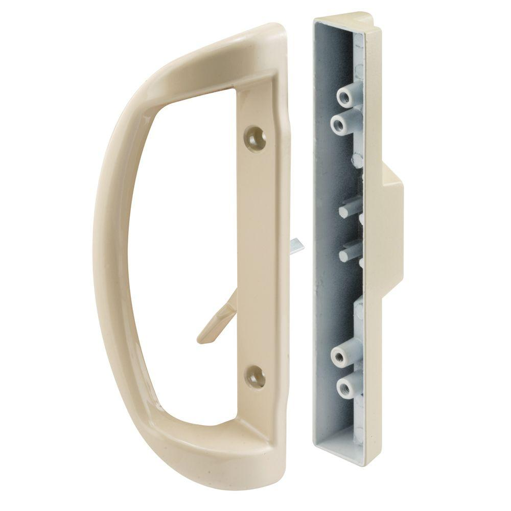 Almond Mortise Style Sliding Door Handle