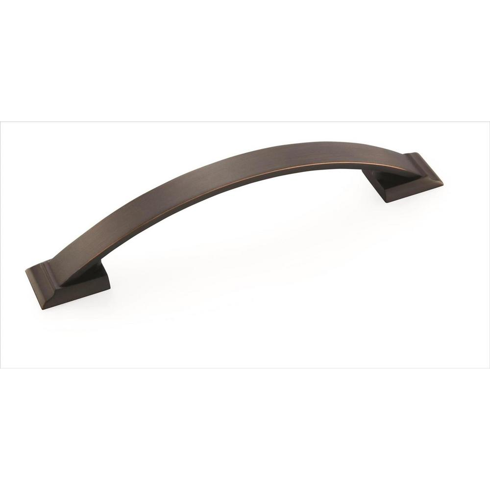 Amerock Candler 5-1/16 in (128 mm) Center-to-Center Oil-Rubbed Bronze Cabinet Pull