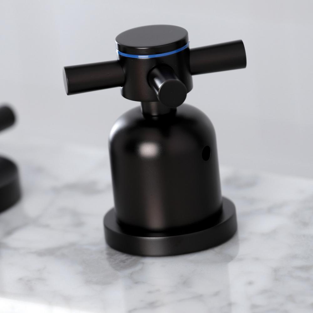 Concord 8 in. Widespread 2-Handle Bathroom Faucet in Oil Rubbed Bronze