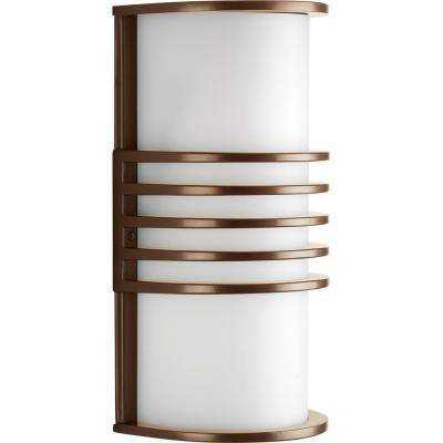 Parker Collection Antique Bronze 10.25 in. Outdoor Wall Lantern Sconce