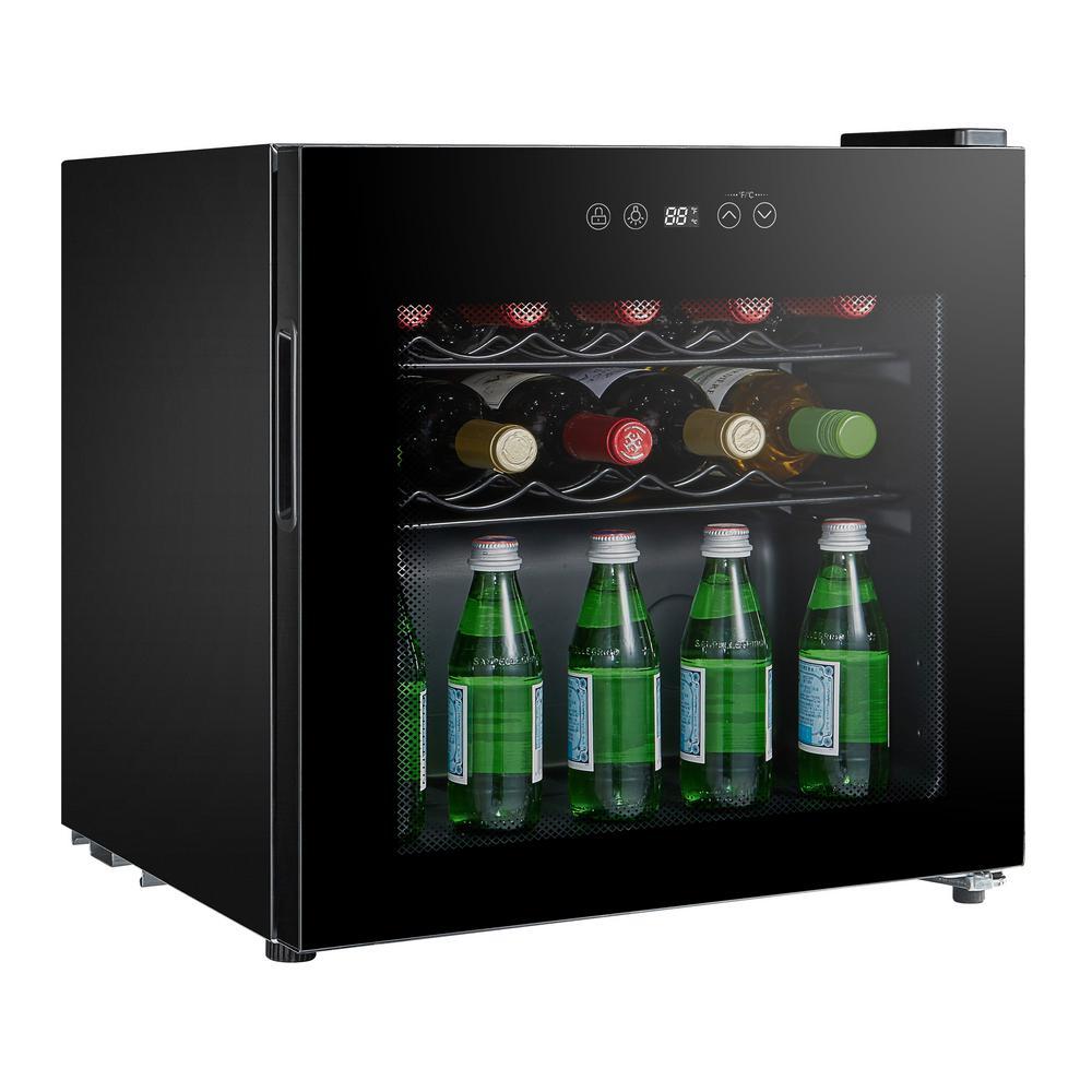 16-Bottle Single Zone Compressor Wine Cooler