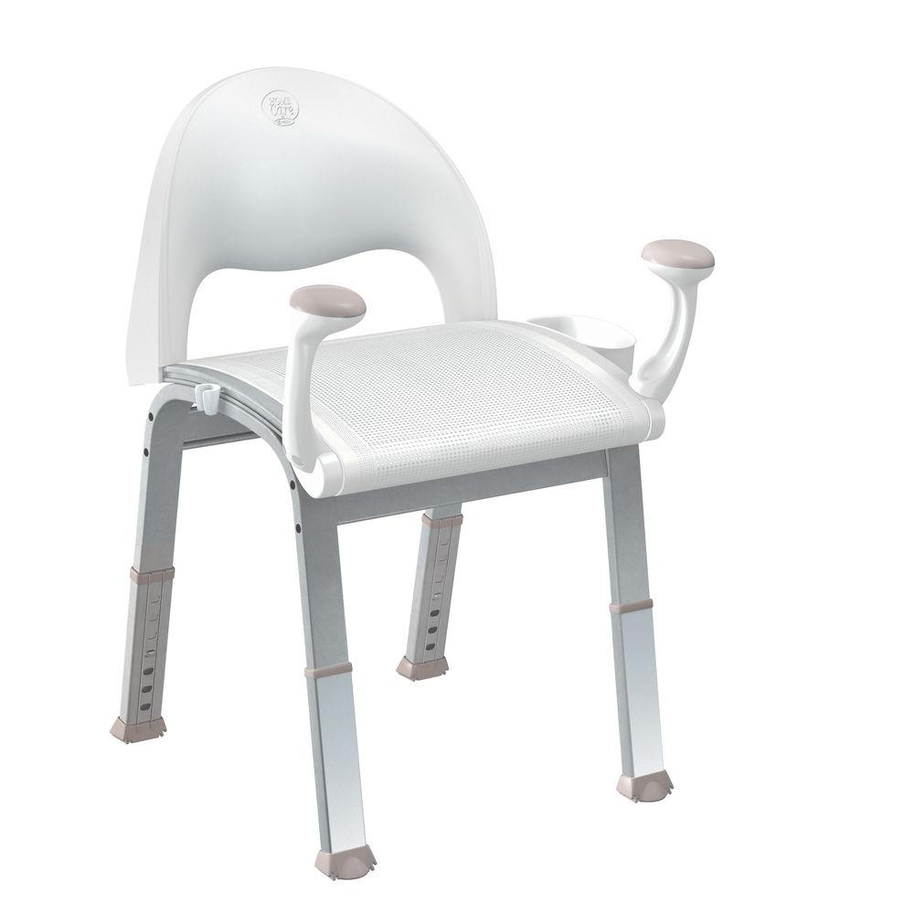 MOEN Premium Shower Chair  sc 1 st  Home Depot : bath safety chair - Cheerinfomania.Com