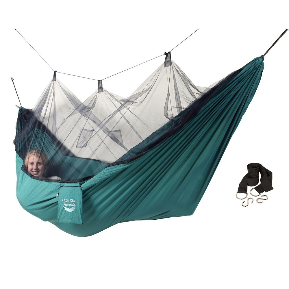 blue sky hammocks mosquito   hammock with free tree straps blue sky hammocks mosquito   hammock with free tree straps      rh   homedepot