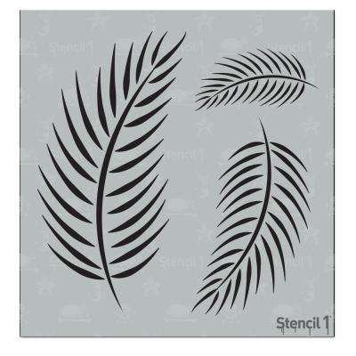 Palm Frond Small Stencil
