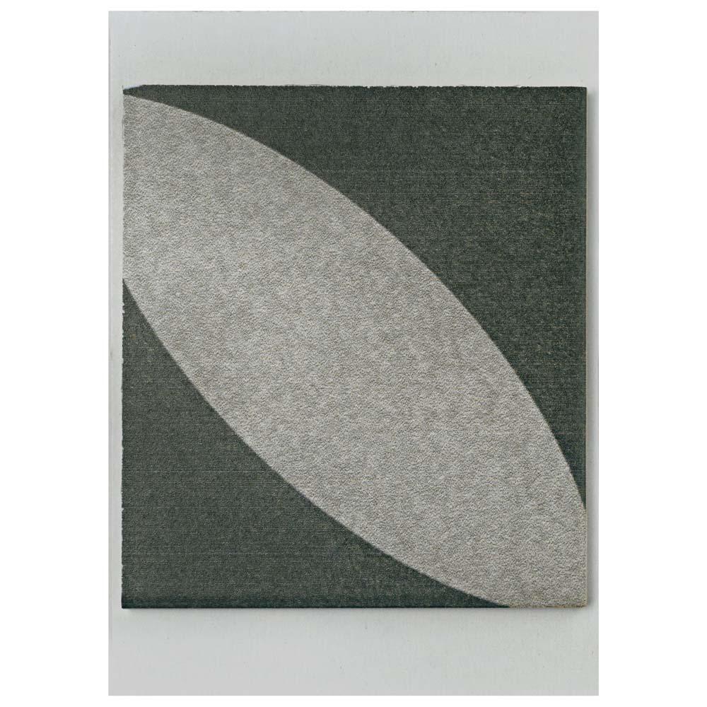 Twenties Petal Ceramic Floor and Wall Tile - 3 in. x 4 in. Tile Sample