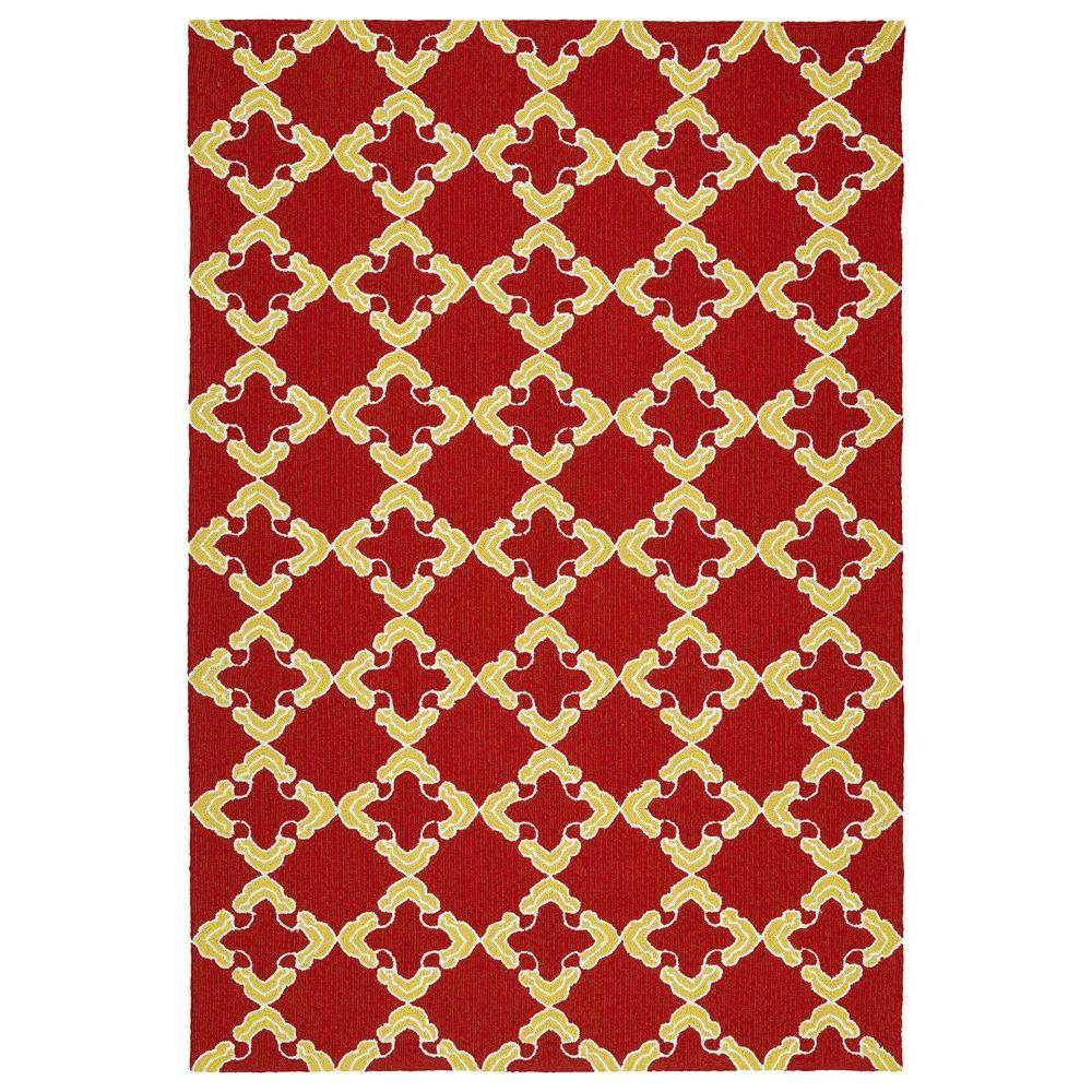 Home Decorators Collection Bianca Red 3 Ft X 5 Ft Area