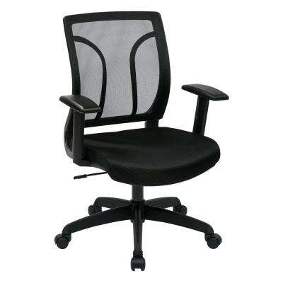 Black Screen Back Office Chair