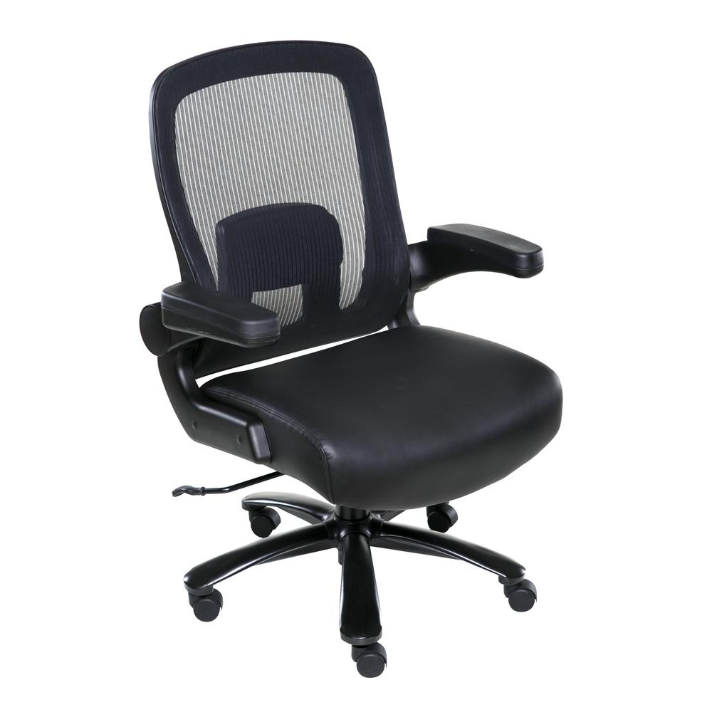 Black Taft Mesh Back Oversized Executive Chair with Pocket Coil Seat