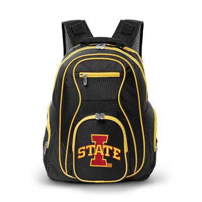 NCAA Iowa State Cyclones 19 in. Black Trim Color Laptop Backpack