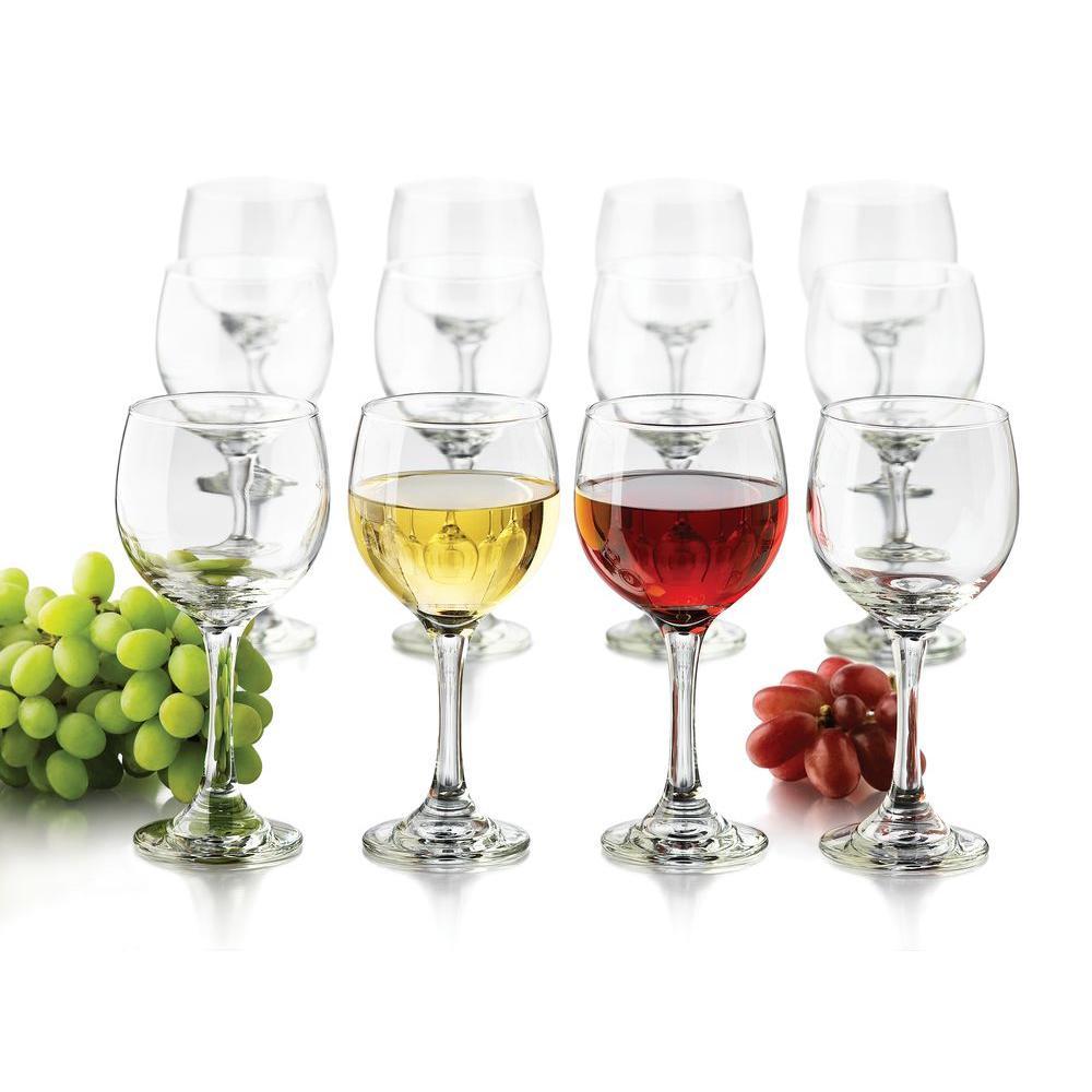 Libbey 10.5 oz. 12-Piece Wine Party Glass Set
