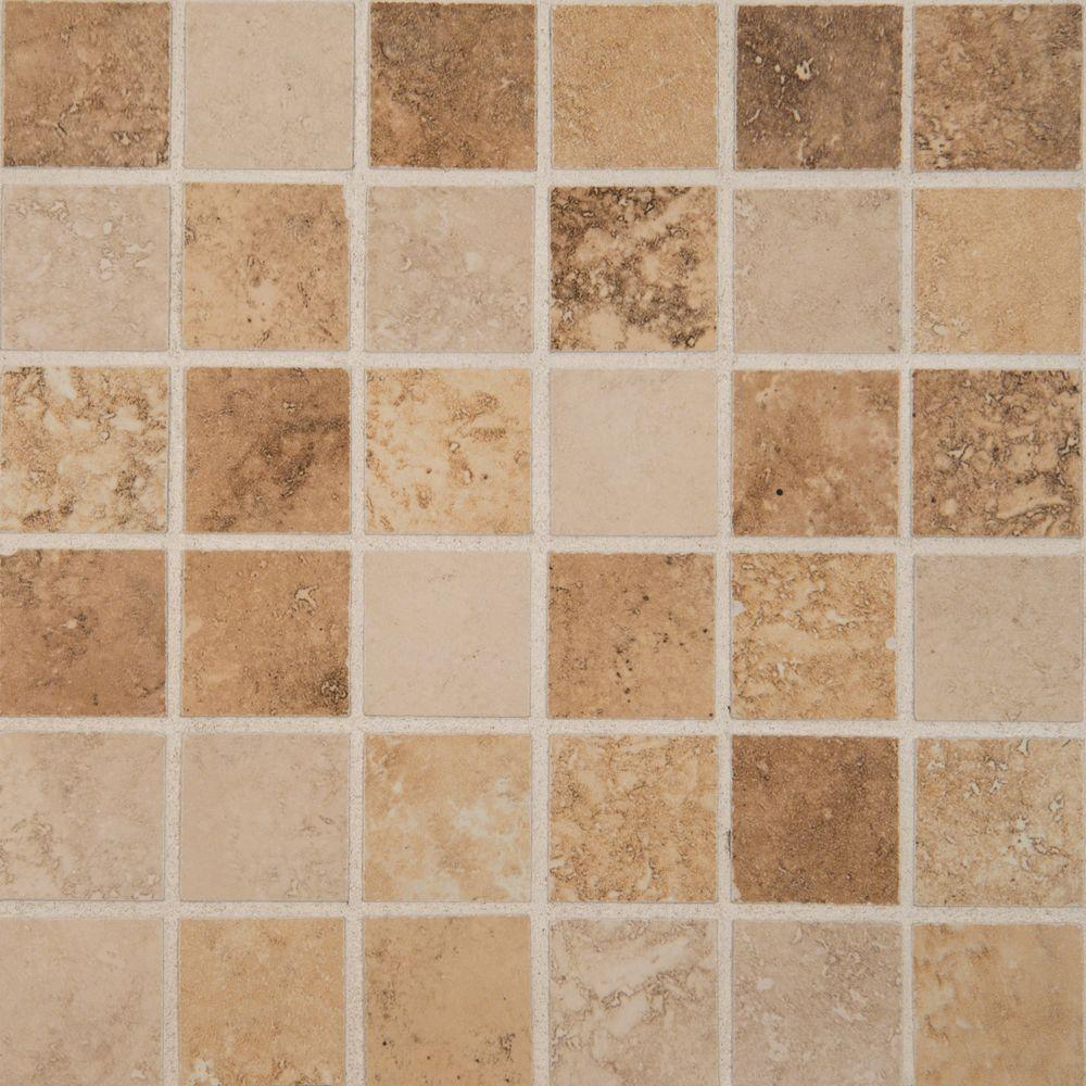 MSI Venice Mixed 12 in. x 12 in. x 10 mm Glazed Porcelain Mesh-Mounted Mosaic Floor and Wall Tile (8 sq. ft. / case)