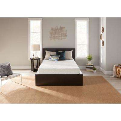7.25 in. Twin Gel Memory Foam Mattress