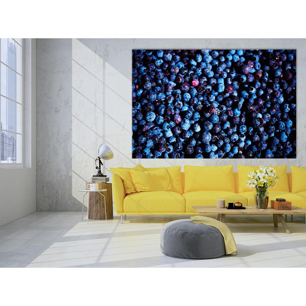 "48 in. x 72 in. ""Blueberries II"" by Peter Morneau Printed"