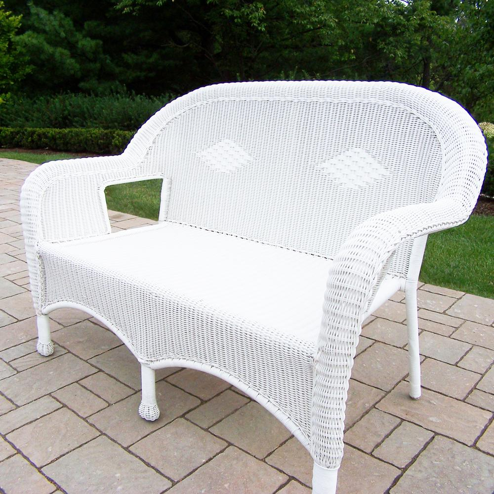 Fine Resin Wicker Patio Loveseat Cjindustries Chair Design For Home Cjindustriesco