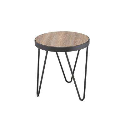 Bage Weathered Gray Oak End Table