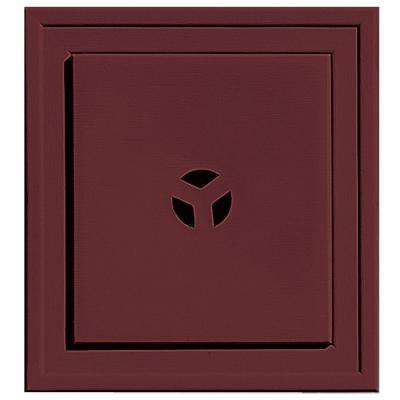 7.9375 in. x 7.9375 in. #078 Wineberry Slim Line Universal Mounting Block