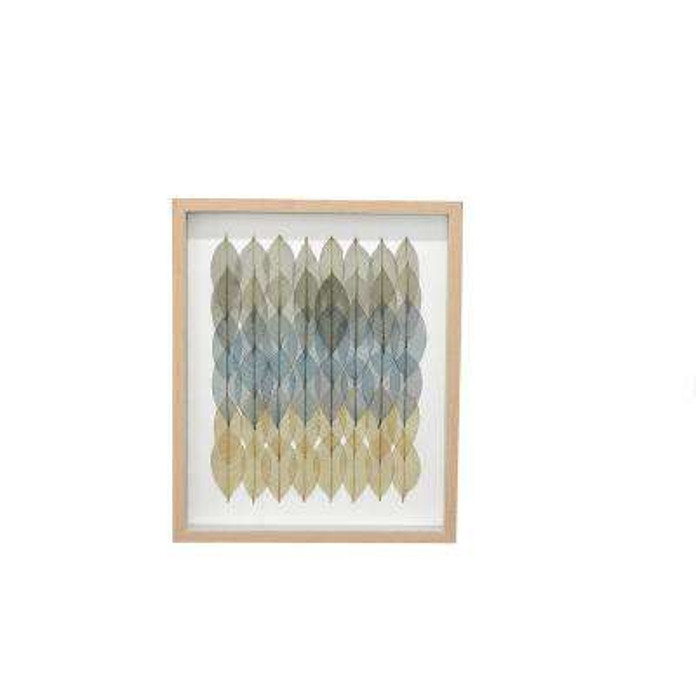 24 in. Wood Framed Wall Art