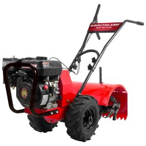 Southland 18 inch 196cc Gas 4-Cycle Rear-Tine Tiller by Southland