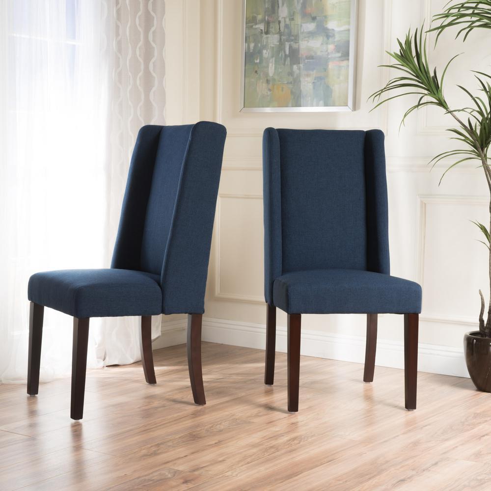 Le House Braelynn Navy Blue Fabric