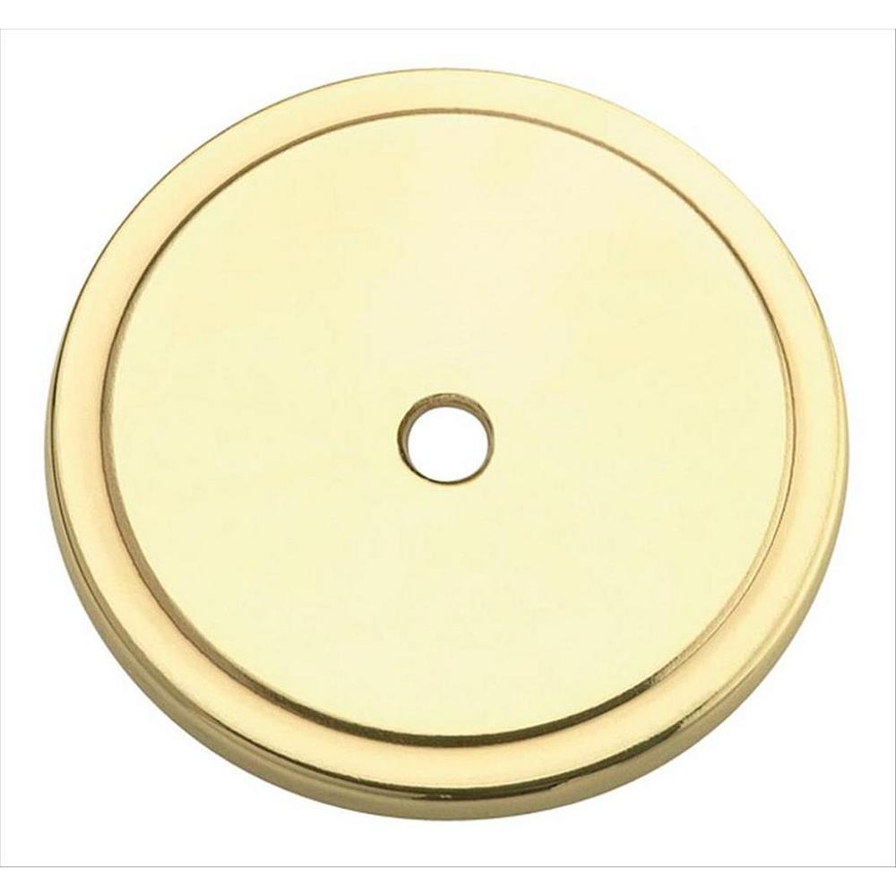 (44 Mm) Polished Brass Cabinet Knob