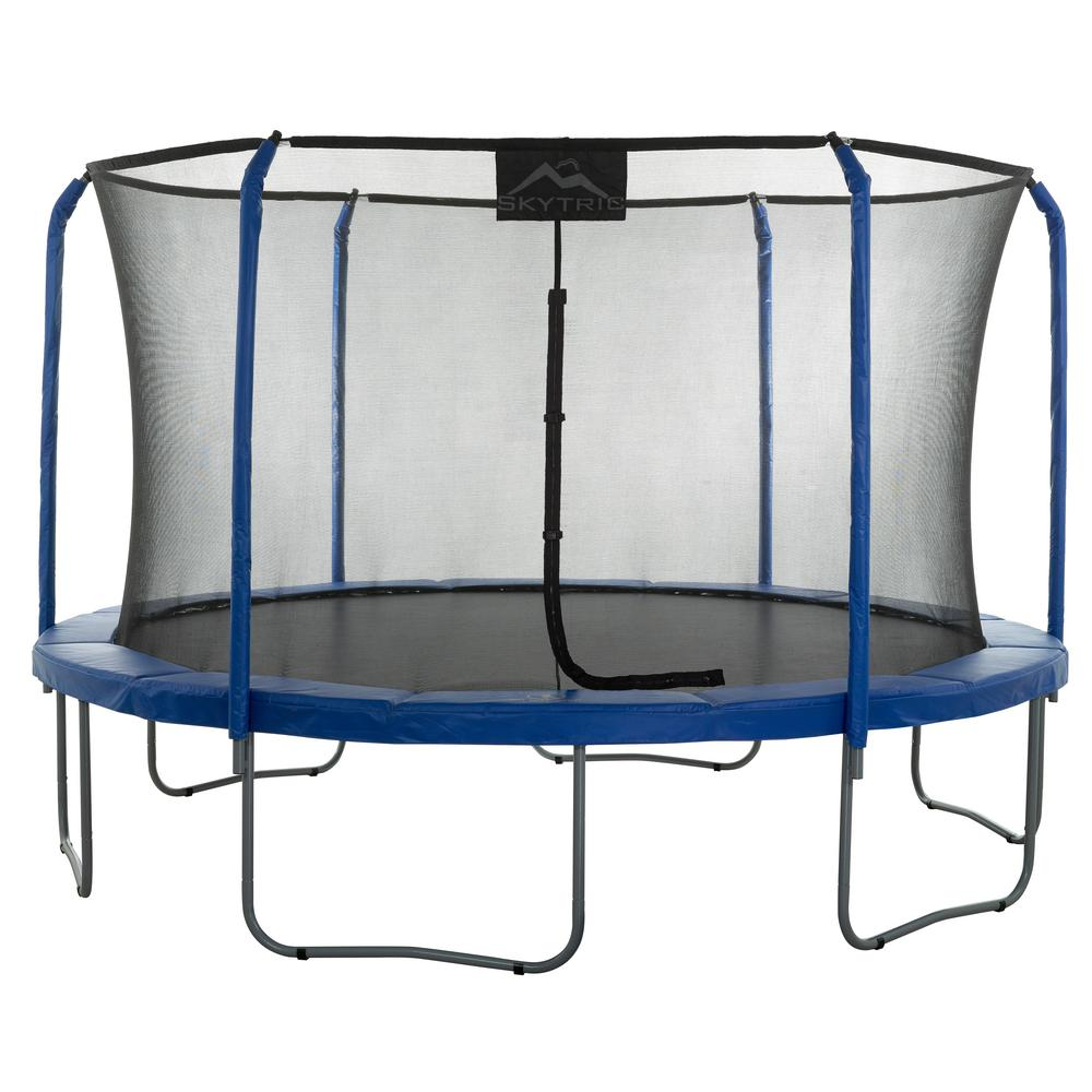 Upper Bounce 15 ft. Trampoline with Top Ring Enclosure Sy...