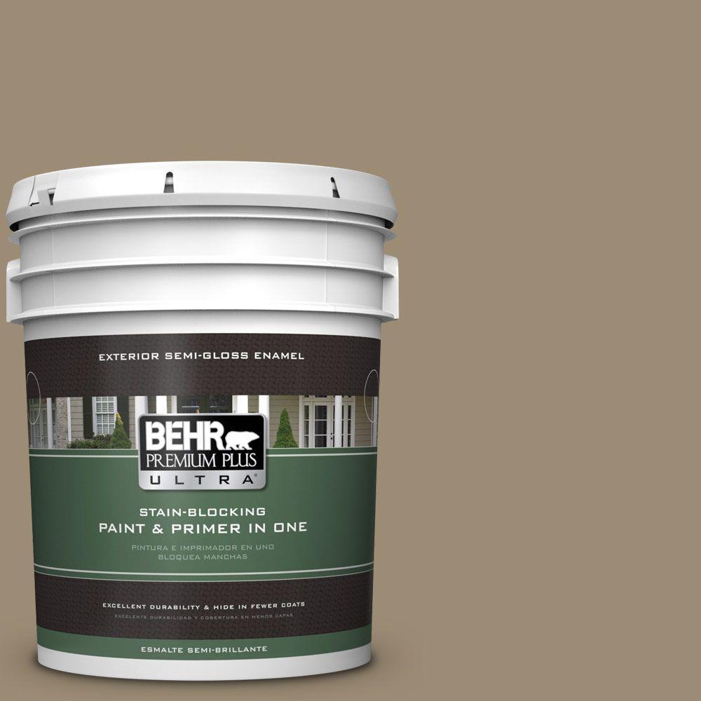 BEHR Premium Plus Ultra 5-gal. #T14-17 Archivist Semi-Gloss Enamel Exterior Paint