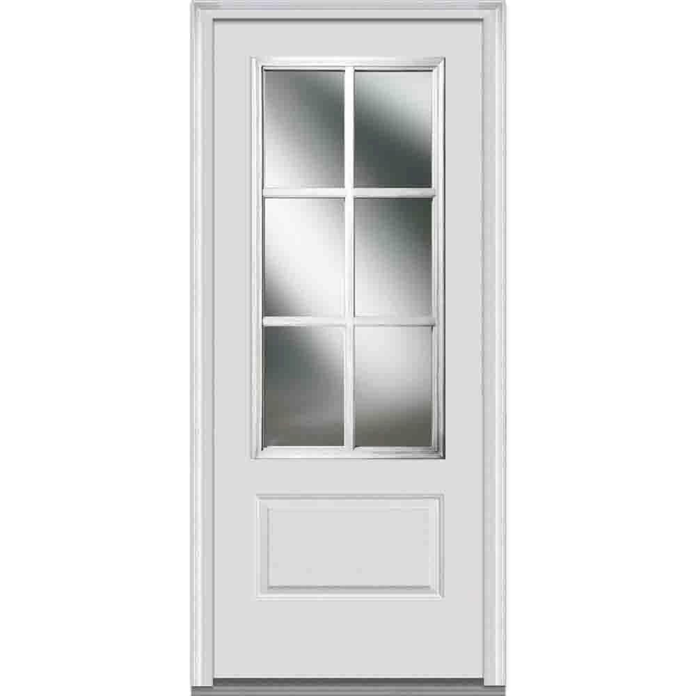 Mmi Door 36 In X 80 In Sdl Low E Left Hand 3 4 Lite 1