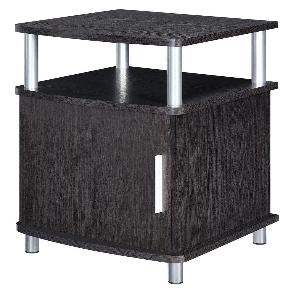 Windsor espresso end table