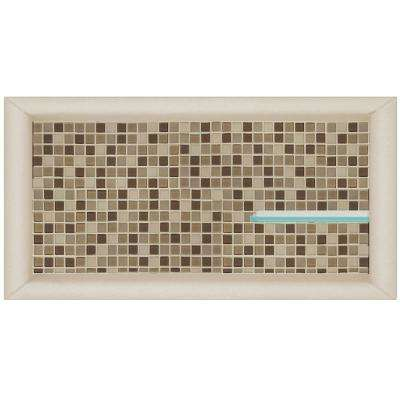 Roma 24 in. x 4 in. x 12 in. Shower Niche in Desert Sand