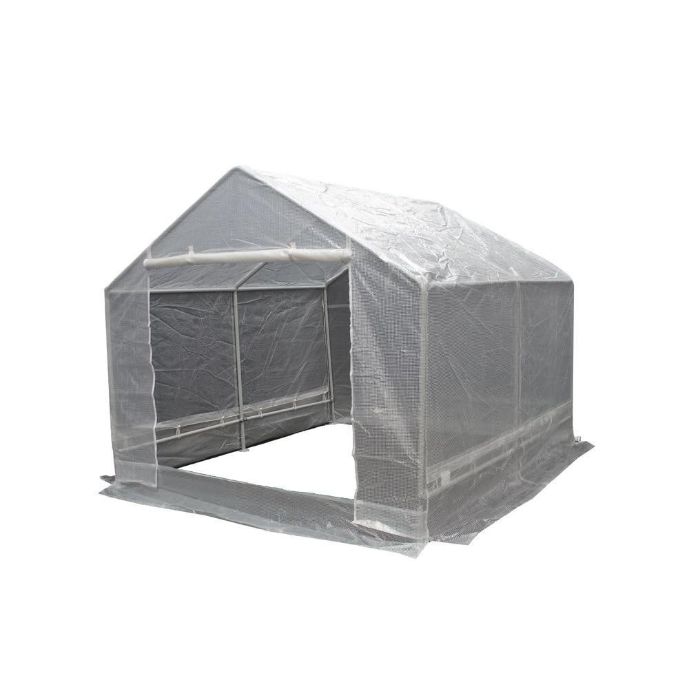 King Canopy 10 ft. W x 10 ft. D Greenhouse  sc 1 st  The Home Depot & King Canopy 10 ft. W x 10 ft. D Greenhouse-GH1010 - The Home Depot