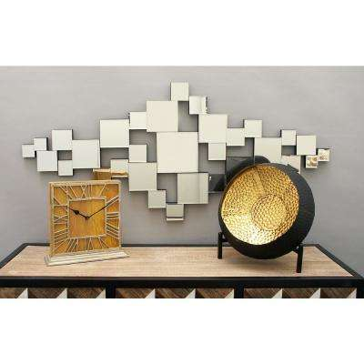 Contemporary Abstract Wall Mirror Montage
