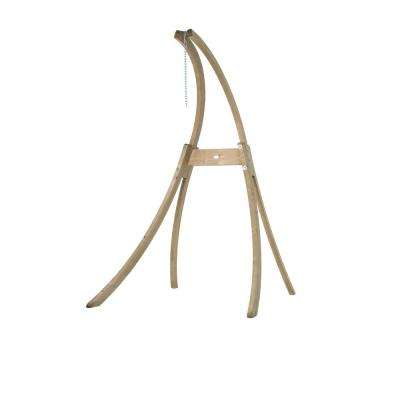 79 in. to 94 in. Adjustable Laminated Spruce Hanging Chair Stand