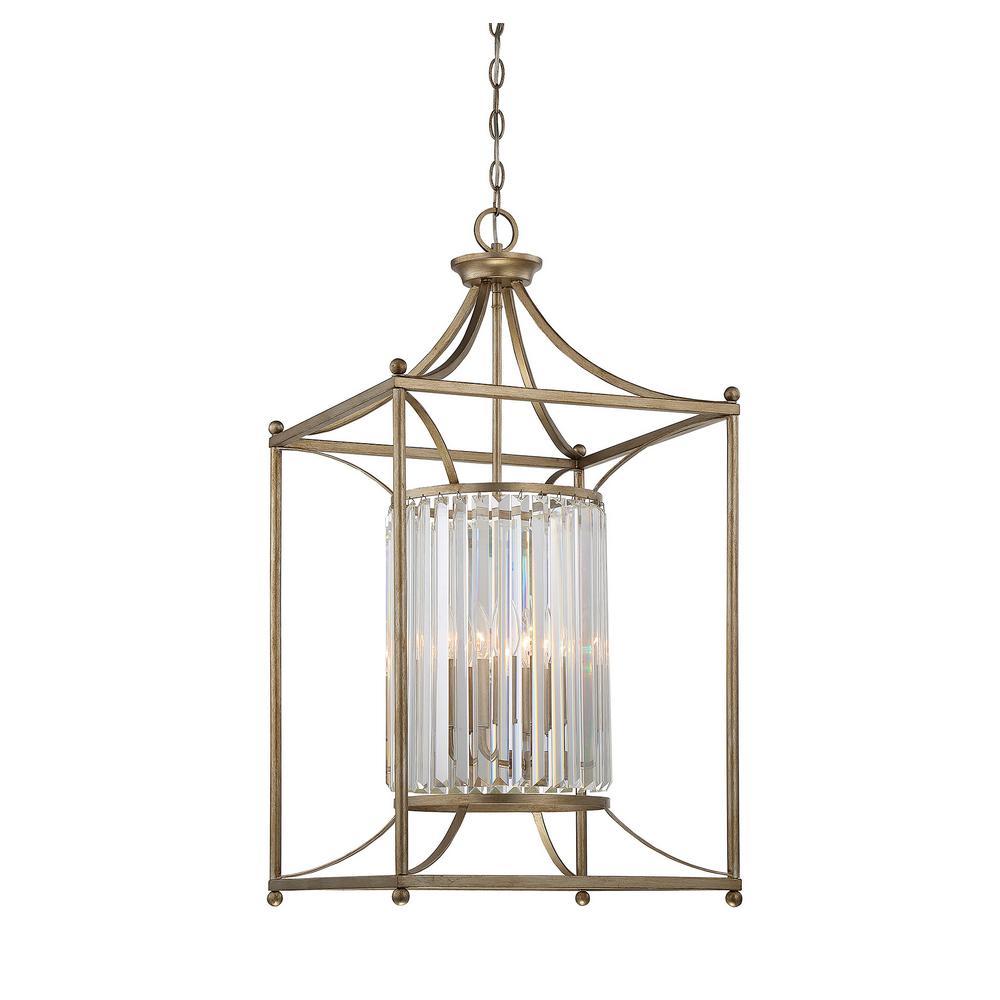 Filament Design 4-Light Argentum Pendant